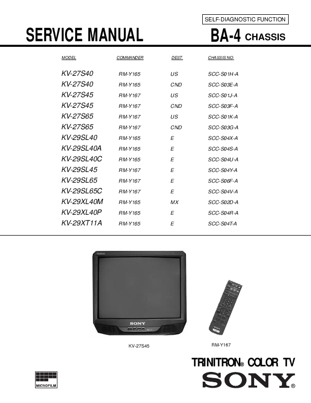 search sony sony crt television user manuals manualsonline com rh tv manualsonline com sony trinitron tv manual free sony trinitron tv manual free