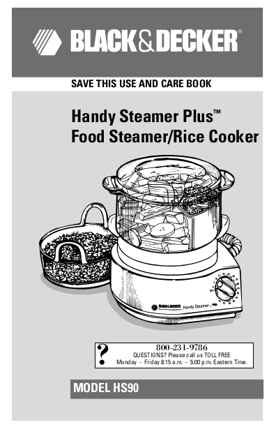 Black And Decker Rice Cooker. for Black amp; Decker HS90 Rice