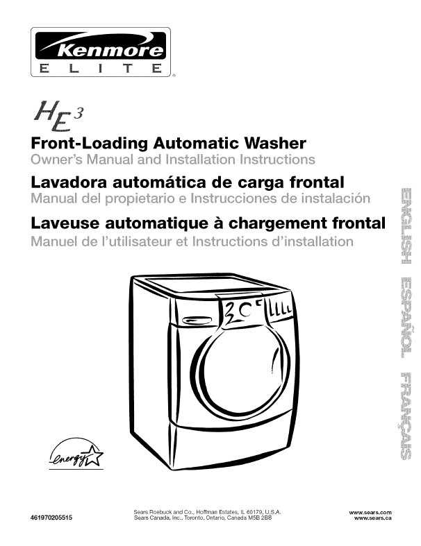 Contents contributed and discussions participated by dominique kenmore washing machine user manual fandeluxe Choice Image