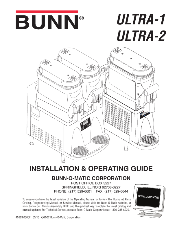 Bunn Coffee Maker User Guide : ?asa: Bunn airpot coffee maker manual