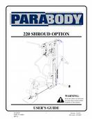 Parabody Shroud Machine User's Guide