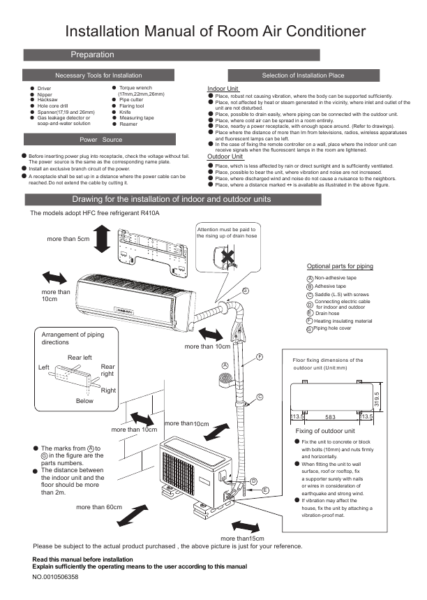 Proper Air Conditioner Wiring Manual Guide