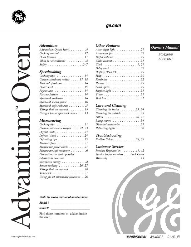 Advantium recipe