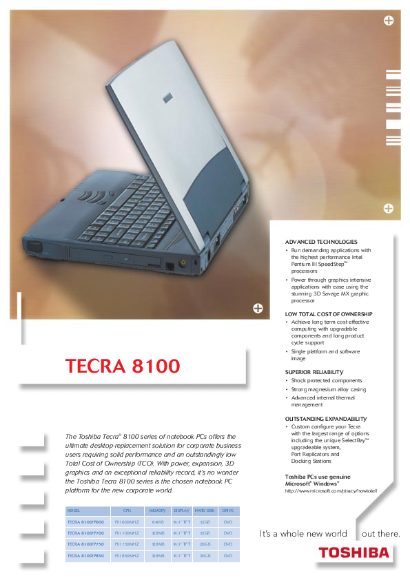 search laptop pc user manuals manualsonline com rh manualsonline com Toshiba Tecra A10 Toshiba Tecra Key Functions
