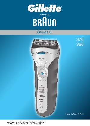 braun series 9 user manual