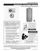 reliance 501 electric water heater manual
