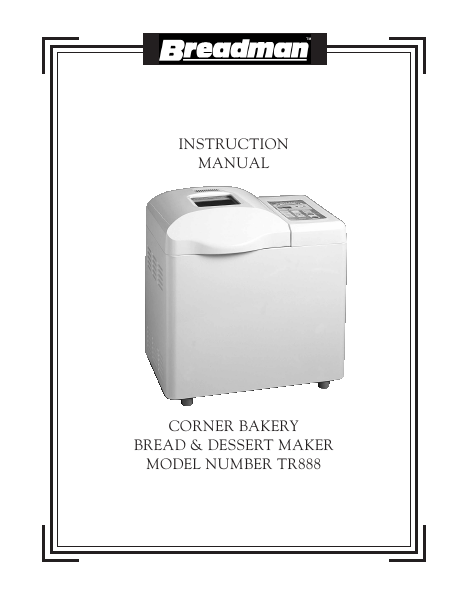 bakery operation manual Direct cooling type deli / bakery cases installation and operation manual keep this manual in a safe place for your reference proper operation.
