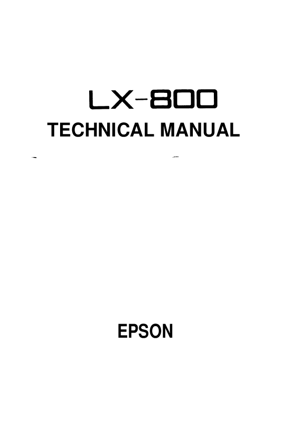 Search lx user manuals manualsonline epson lx 800 sciox Choice Image