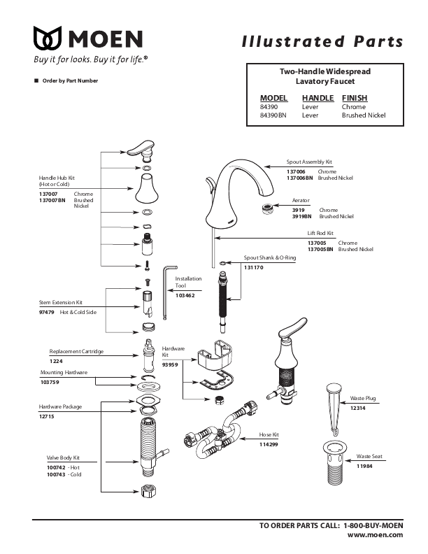 945 1 further How To Get Free Moen Parts together with Kitchen Two Handle additionally Bathtub Faucet And Shower Head Leaking additionally 84390. on bath spout diverter valve repair