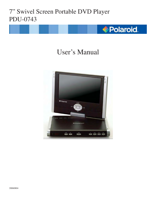 search portable generator user manuals manualsonline com rh personalcare manualsonline com polaroid dvd player pdm 0722 manual