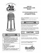 char broil portable gas grill assembly instructions