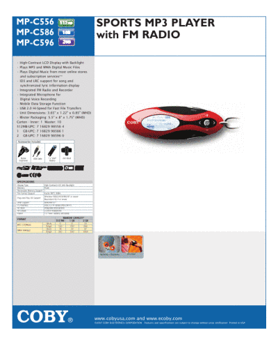 search coby electronics coby electronics mp3 player lis user manuals rh portablemedia manualsonline com Coby MP3 Player Support Coby MP3 Player Support