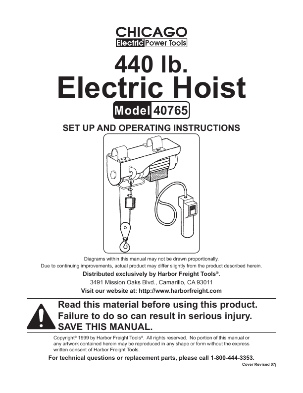 Search chicago electric chicago electric User Manuals ...