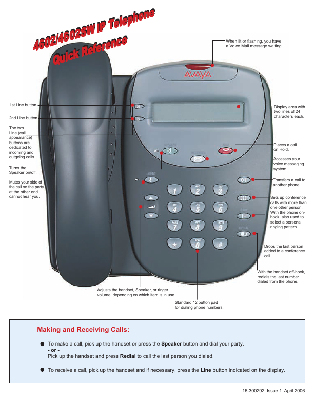 Search avaya avaya telephone User Manuals | ManualsOnline com
