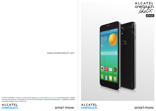 User manual alcatel idol 4