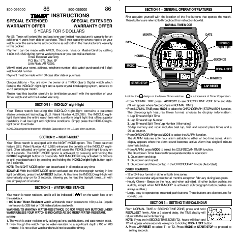 Timex ironman watch instructions. timex watches. EDINBURGH