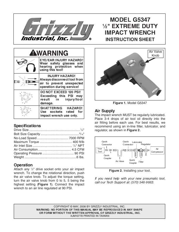 Search cordless user manuals manualsonline grizzly g5347 publicscrutiny Gallery