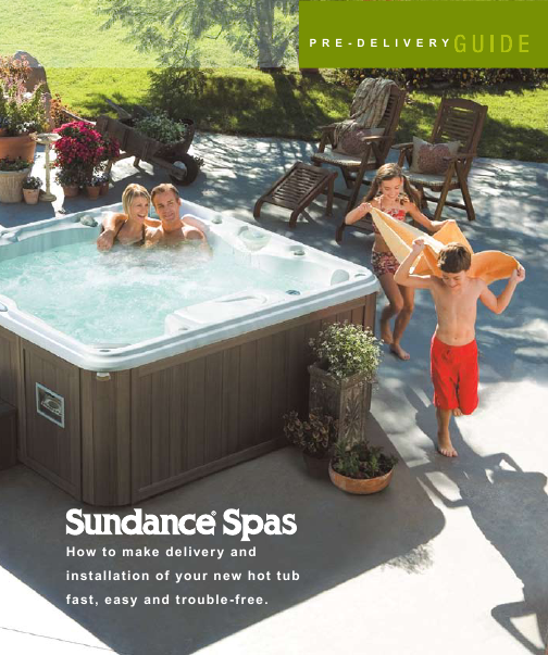 sundance spas operating manual