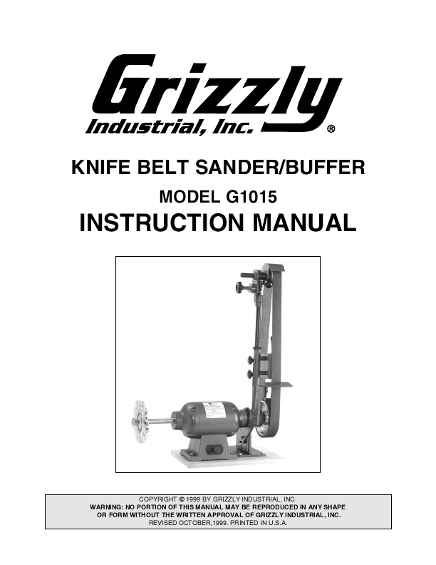 Knife Instructor Manual