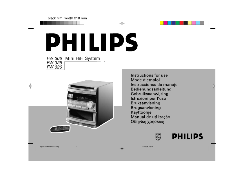 search philips philips shelf stereo system user manuals rh audio manualsonline com Philips User Guides Philips DVD Player Manual