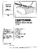 Craftsman Garage Door Opener User Manual Manualsonline Com