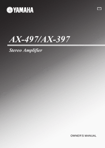ax 497 yamaha pdf manual