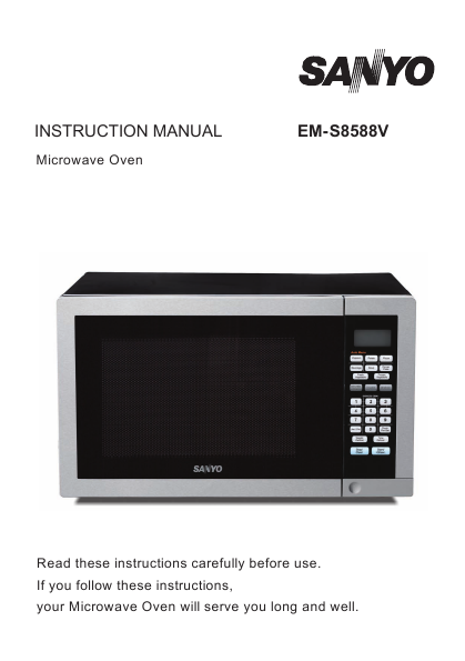 search convection user manuals manualsonline com rh manualsonline com Sanyo Microwave Convection Oven Sanyo Compact Microwave