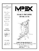 Impex MARCY PREMIER HOME GYM OWNER'S MANUAL PREMIER