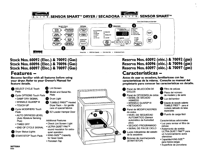 Kenmore Elite He3 Dryer Schematic Get Free Image About