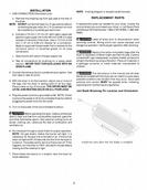 Kenmore Gas & Electric Dryer Installation Instructions