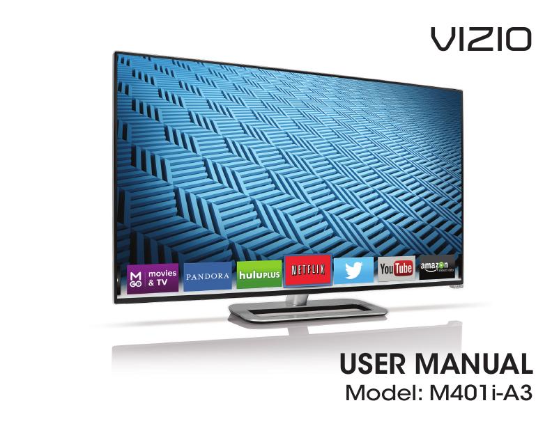 search vizio lcd hdtv user manuals manualsonline com rh tv manualsonline com Vizio E260MV Manual Back View Vizio 55 Razor LED