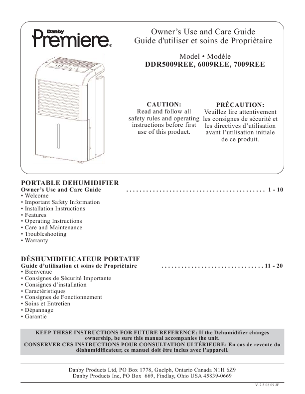 ... Danby Countertop Dishwasher Ddw. Manual content by creating an account