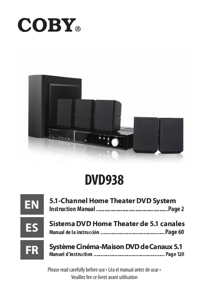 coby dvd938 hook up Sony ht-ct660 46-inch sound bar with wireless subwoofer actual buyer  you can add up to three high-definition  coby dvd938 51-channel dvd home.