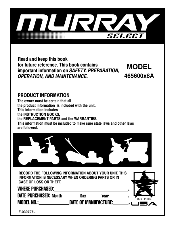 Murray Hydrostatic Transmission: no fwd - SSB Farm Tractor Parts