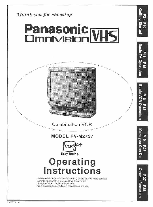 search panasonic ajsdc615p ajsdc905p user manuals manualsonline com rh camera manualsonline com Panasonic TV VCR DVD Combo Panasonic TV VCR DVD Combo