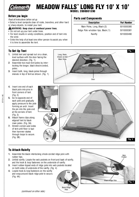 Coleman Tent Instructions Yard And Tent Photos Ceciliadeval