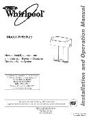 Whirlpool Drinking Water System Installation and Operation Manual WHER25