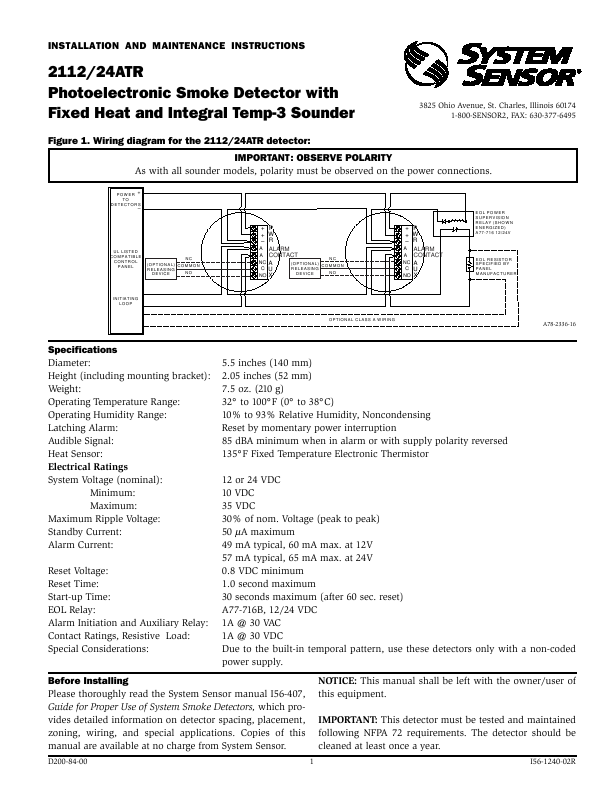 d44567f7 8ec4 4a15 a88b 2ecd732fca2f 000001 search heat detector user manuals manualsonline com 5R55E Transmission Wiring Diagram at panicattacktreatment.co