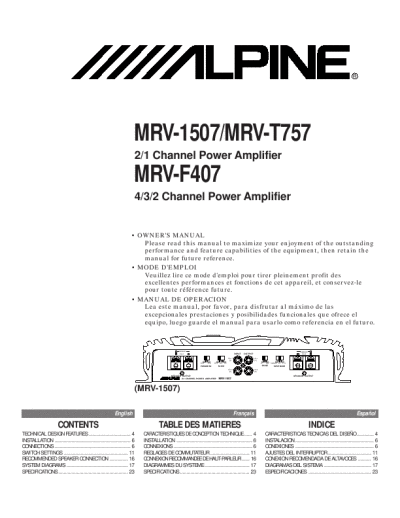 d6fef7e6 cf08 4737 a254 2999a547d36e 000001 search alpine alpine stereo amplifier user manuals manualsonline com 30 Amp RV Wiring Diagram at bayanpartner.co
