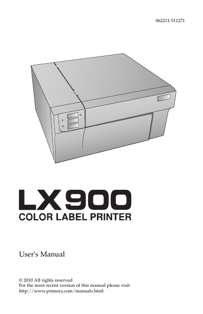 Search lx user manuals manualsonline primera technology lx900 sciox Choice Image