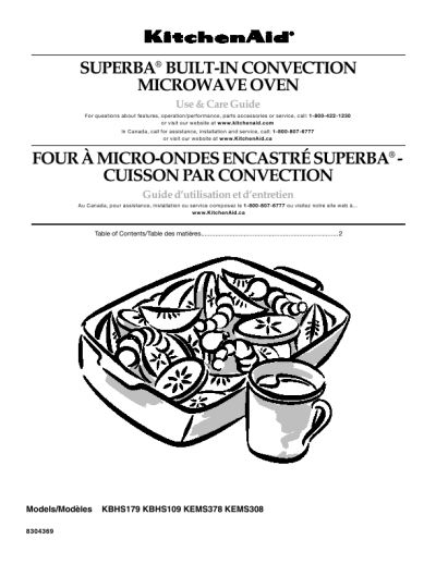 Kitchenaid Convection Oven Kems308 User S Guide