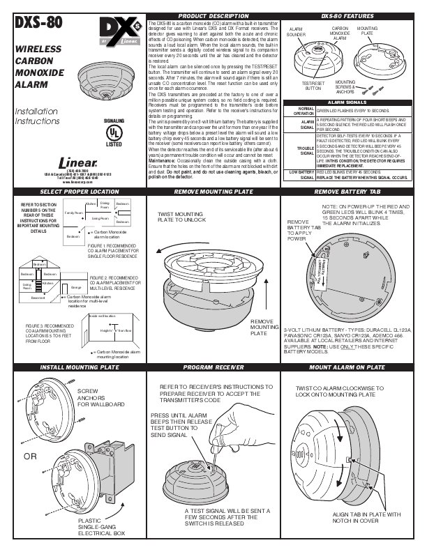 garrison smoke and carbon monoxide alarm manual