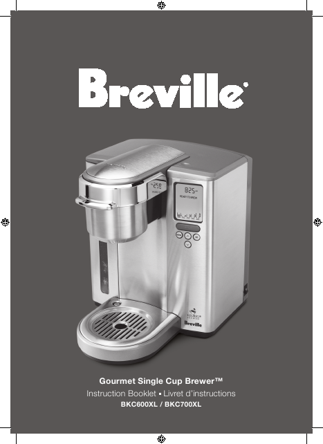 Breville Coffee Maker How To Use : Breville Keurig Single Cup Brewer User Manual ManualsOnline.com