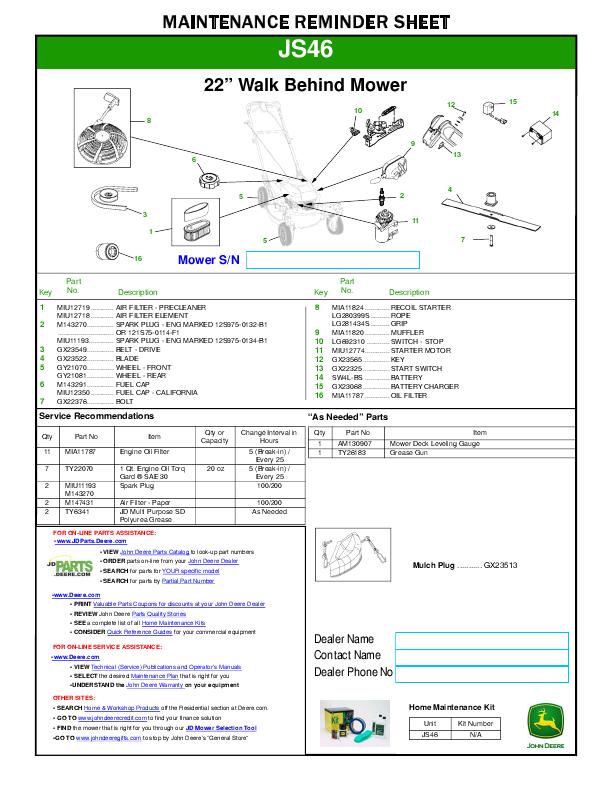 TractorData.com John Deere STX38 Yellow Deck tractor information