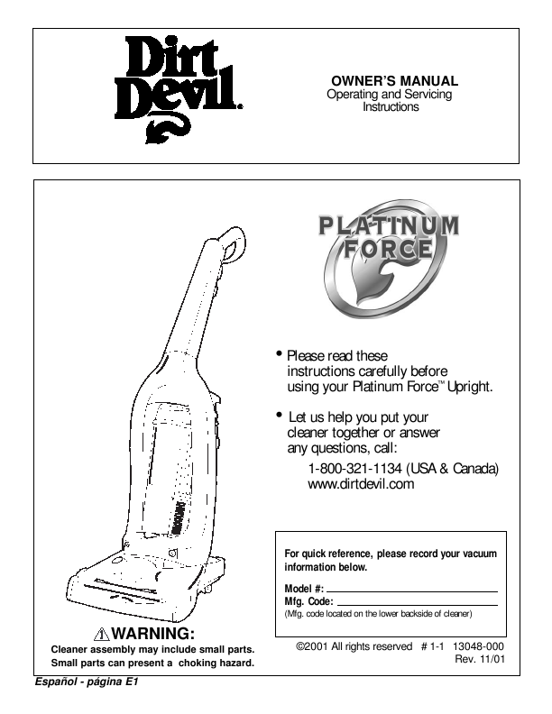 dirt devil easy steam mop instructions