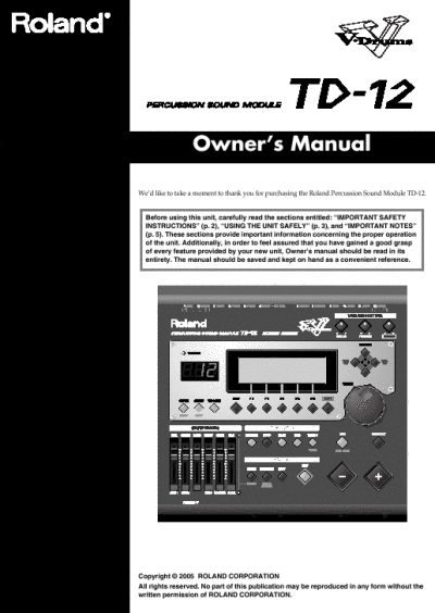 Roland r 5 manual download : Drivers : Software