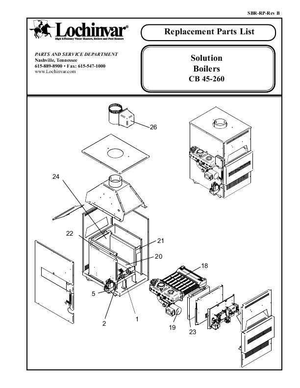 Boiler Parts Lochinvar Boiler Parts
