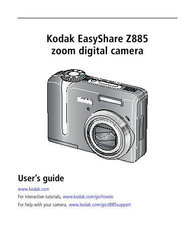 kodak easyshare z712 is manual