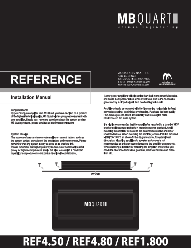 Search manual user manuals manualsonline mb quart not found ref1800 publicscrutiny Choice Image