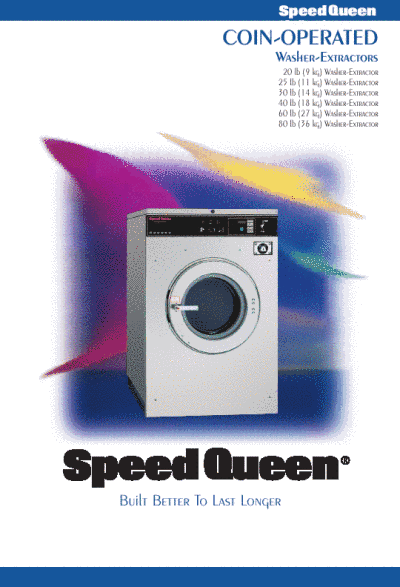 Speed Queen Washer 20 Lb User S Guide Manualsonline Com